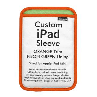 Mini manga del iPad de encargo - (verde del Fundas Para iPad Mini