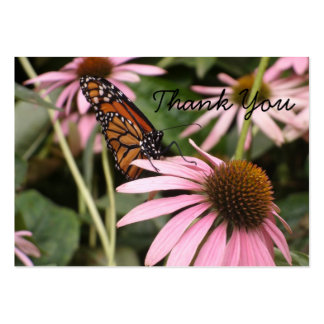 Mini mariposa Notecard Plantilla De Tarjeta De Visita