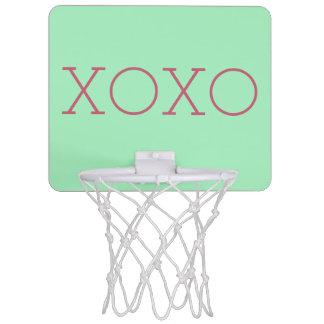 Mini meta del baloncesto de XOXO Mini Aro De Baloncesto