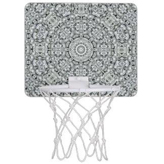 Mini meta del baloncesto del modelo blanco de la mini tablero de baloncesto