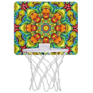Mini metas del baloncesto del resplandor solar mini aro de baloncesto