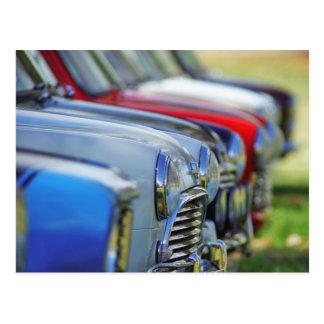 Mini postal del automóvil de los coches del