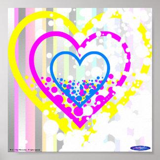 Mini poster #1 de los corazones manchados