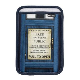 Mini resbalón 2 de policía de llamada de la caja funda para iPad mini