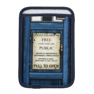 Mini resbalón de la policía de llamada de la caja fundas iPad mini