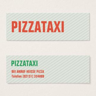 Mini tarjetas de presentación PIZZAS