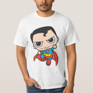 Mini vuelo del superhombre camiseta