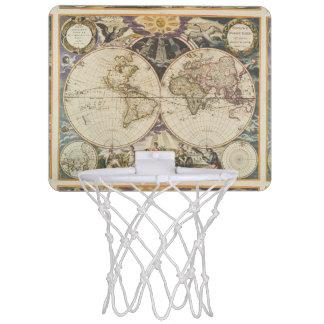 Miniaro De Baloncesto 1702 un nuevo mapa del mundo