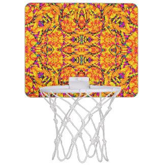 Miniaro De Baloncesto Adornado vibrante colorido