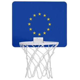 Miniaro De Baloncesto Bandera de la UE