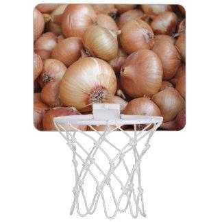 Miniaro De Baloncesto Cebollas de Brown