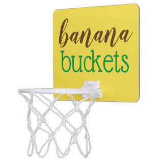 Miniaro De Baloncesto el plátano caprichoso buckets el mini juego del