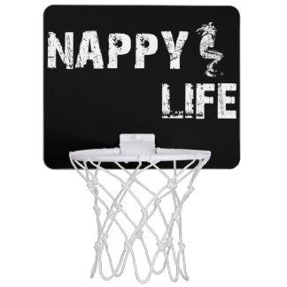 Miniaro De Baloncesto Insignia de la meta w/White del baloncesto de la