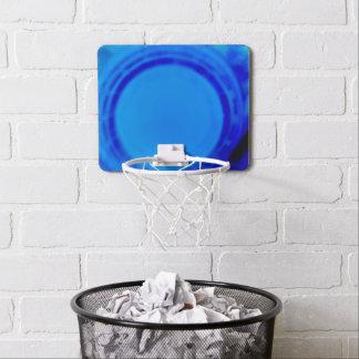 Miniaro De Baloncesto Mini meta azul eléctrica de la bola de la cesta