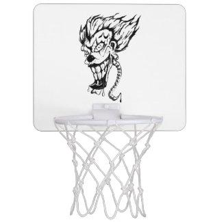 Miniaro De Baloncesto Mini meta del baloncesto del payaso malvado