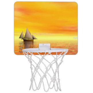 Miniaro De Baloncesto Pequeño velero - 3D rinden