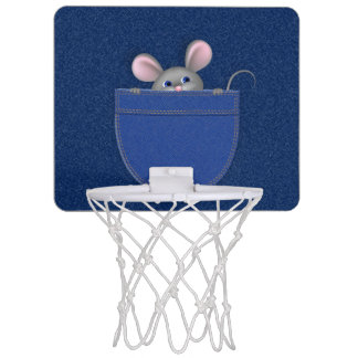 Miniaro De Baloncesto Ratón en bolsillo