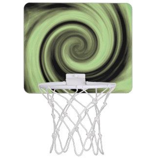 Miniaro De Baloncesto Remolino verdoso