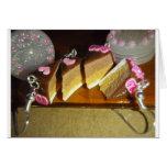 Miniatura de la torta de la cereza felicitacion