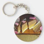 Miniatura de la torta de la cereza llavero personalizado