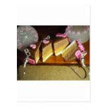 Miniatura de la torta de la cereza postal
