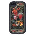 Miniatura floral de gran colorido del arte persa funda para iPhone SE/5/5s