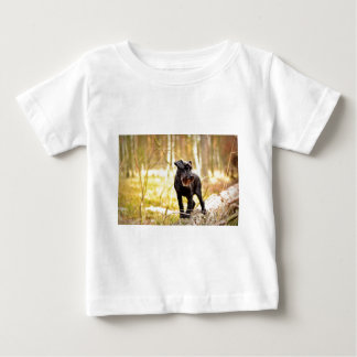 miniatura-schnauzer camiseta de bebé