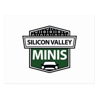 Miniaturas de Silicon Valley - postal verde del