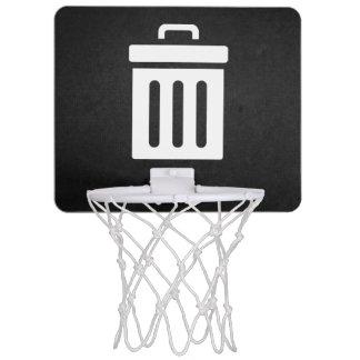 Minicanasta De Baloncesto Icono de los compartimientos de la cancelación