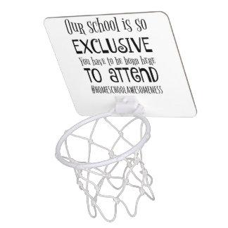 Minicanasta De Baloncesto Juguete casero del baloncesto de la escuela