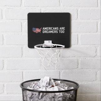 Minicanasta De Baloncesto Los americanos del triunfo son soñadores
