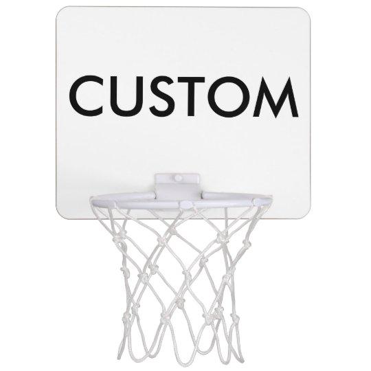 Minicanasta De Baloncesto Mini espacio en blanco personalizado personalizado