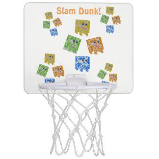 Minicanasta De Baloncesto Mini meta de la bola de la cesta