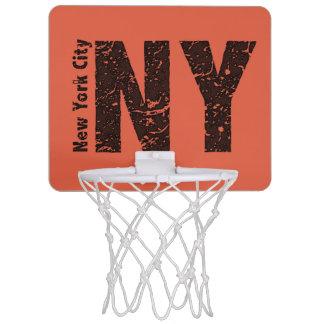 Minicanasta De Baloncesto Mini meta del baloncesto de Nueva York