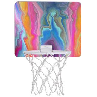 Minicanasta De Baloncesto Ondulaciones del color