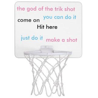 Minicanasta De Baloncesto tiro del trik