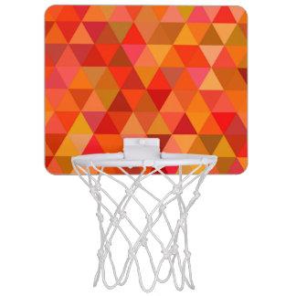 Minicanasta De Baloncesto Triángulos calientes del sol