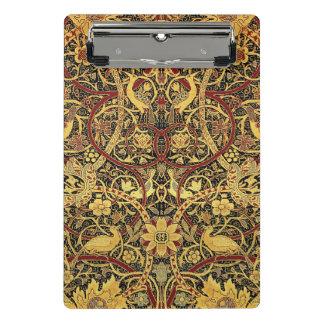 Minicarpeta De Pinza Arte floral de la tapicería de William Morris