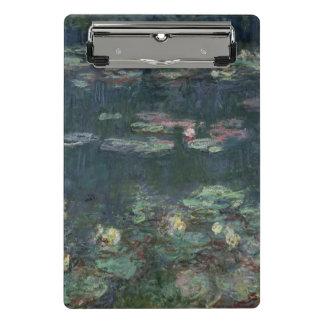 Minicarpeta De Pinza Claude Monet el | Waterlilies: Reflexiones verdes