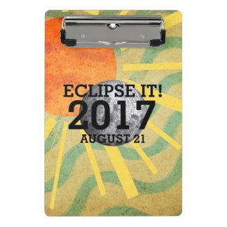 Minicarpeta De Pinza Eclipse de la CAMISETA él 2017