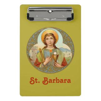 Minicarpeta De Pinza St. Barbara (BK 001)