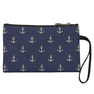 Miniclutch Ancla náutica de los azules marinos