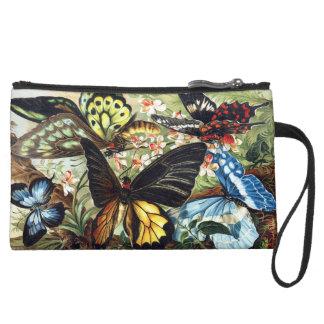 Miniclutch De Ante Mitón personalizado de la impresión de la mariposa