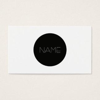 Minimalist de la moda tarjeta de negocios