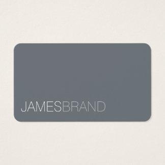 Minimalist elegante tarjeta de visita
