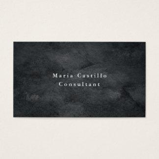 Minimalist gris elegante llano de la textura tarjeta de visita