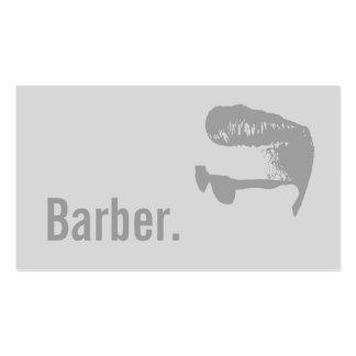 Minimalist gris simple del texto intrépido del tarjetas de visita