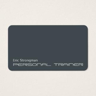 Minimalistic futurista moderno tarjeta de visita