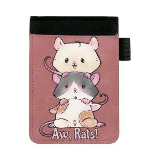 Miniportafolios ¡Aw, ratas!