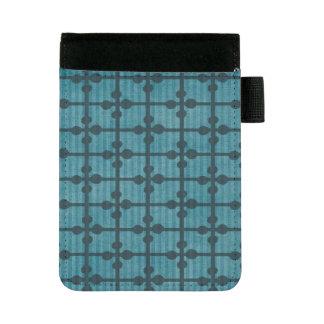 Miniportafolios Fondo azul abstracto del diseño de la rejilla